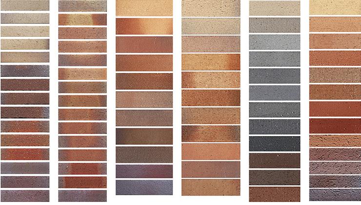 Colors of Terracotta Tile