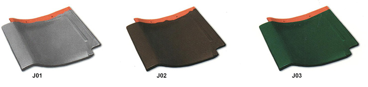 JAPANESE 'J' ROOF TILE