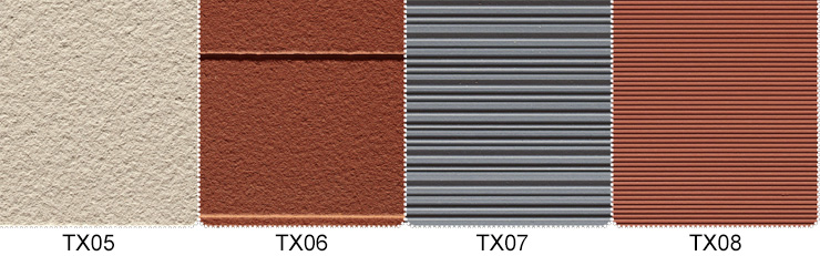 Texture Surface of Terracotta Rainscreen