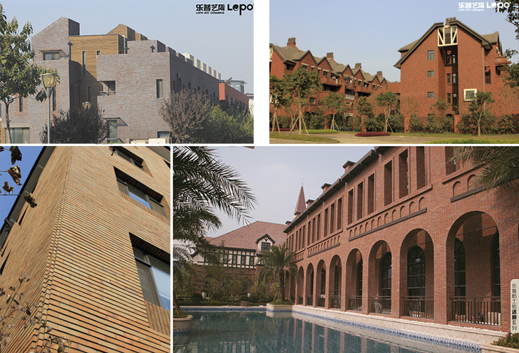 projects of terracotta tiles