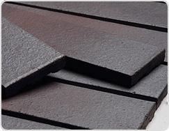 Metal Surface of Terracotta Tile
