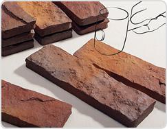 Handmade Surface of Terracotta Tile