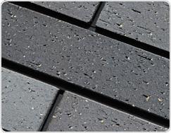 Fine Brushed Surface of Terracotta Tile