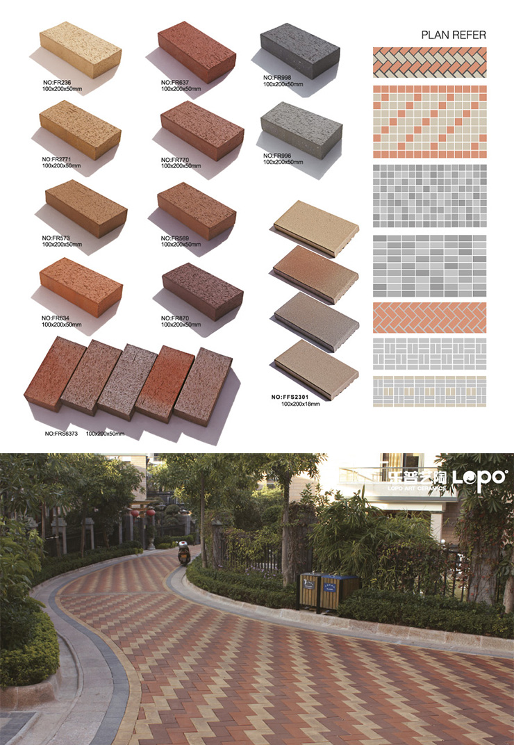 terracotta floor paver