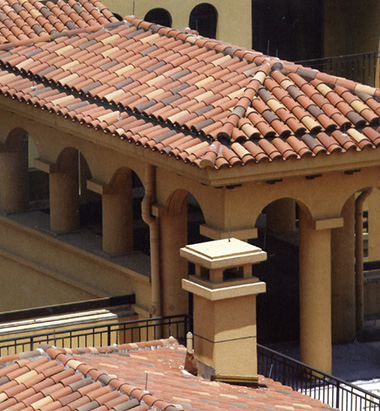 terracotta roof tile