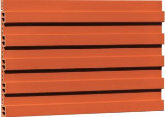 Grooved Finish Terracotta Facade Panel FG503463