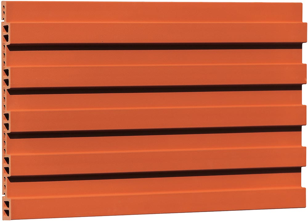 Grooved Finish Terracotta Facade Panel Fg503463 Lopo