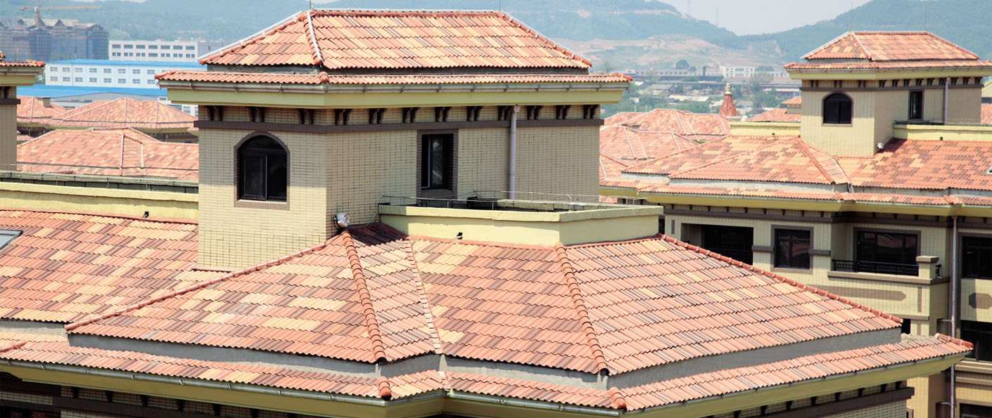 French Roma Roof Tile Lopo Terracotta Panel