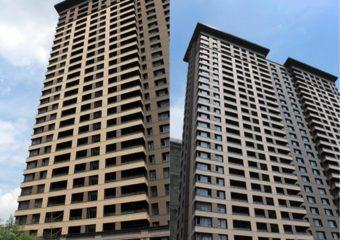 Projeto do painel da fachada da terracota - área residencial em Changzhou