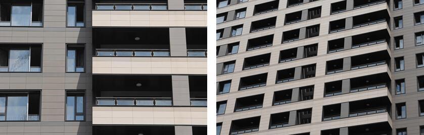 Проект терракотового фасада - жилой район в Чанчжоу