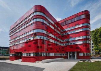 Painéis de terracota Amazing Projects - não é apenas vermelho