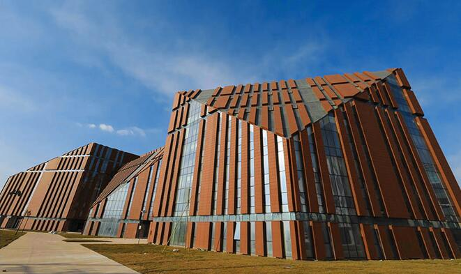 LOPO TERRACOTTA CLADDING PROJECT: SHENYANG YOUTH ACTIVITY CENTER