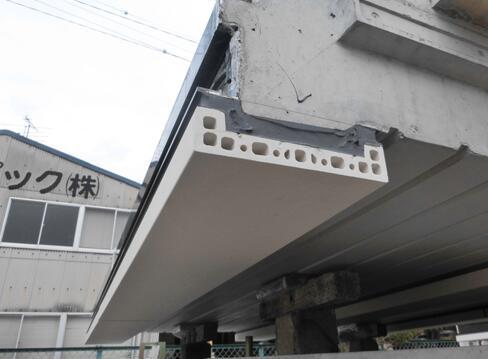 LOPO-Terrakotta-Platten benutzt im vorfabrizierten Gebäude