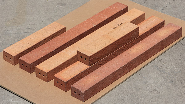 Hand-made Strip Thin Clay Bricks