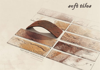 Soft Tiles - новые продукты от LOPO Terracotta Corporation