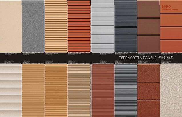 What can we offered for abroad projects based on Terracotta Panels?
