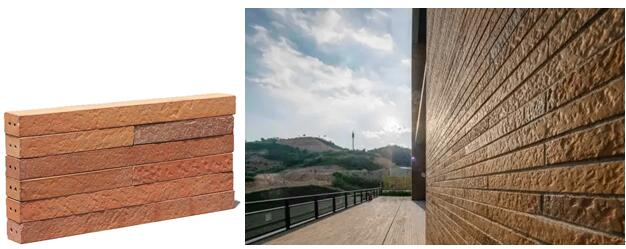 LOPO New Long Format Bricks for the exterior wall decoration