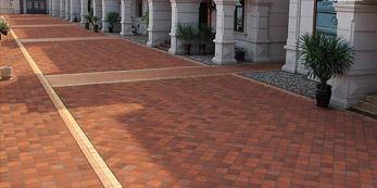 Fornecedor de pavers de argila cerâmica de telha de piso de terracota