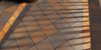 Telha de assoalho de terracota Fornecedor de telhas de assoalho de argila de revestimento de terracota