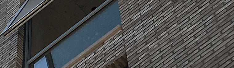 Exteriör Vägg Tile Lång Tunna Tegelsten Fasad Tile