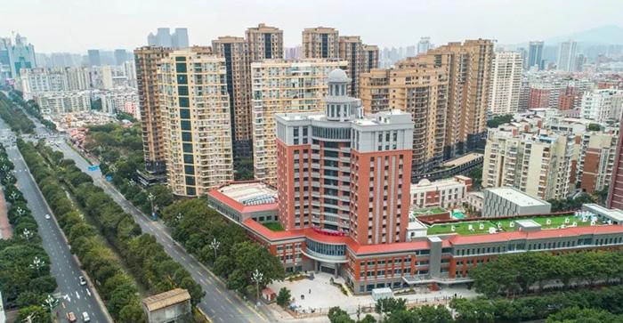 Старое здание для нового взгляда Официально введено в эксплуатацию отделение гериатрии первой больницы Цюаньчжоу