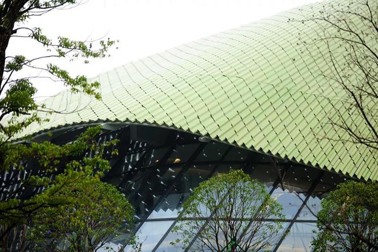 寧波市展示ホールの新館