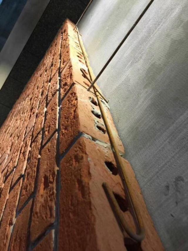 Qingshui maçonnerie brique mur-rideau effet d'ingénierie dessin