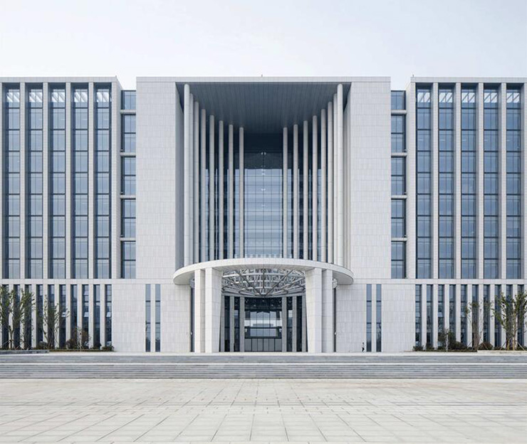 Application of new materials in curtain wall construction