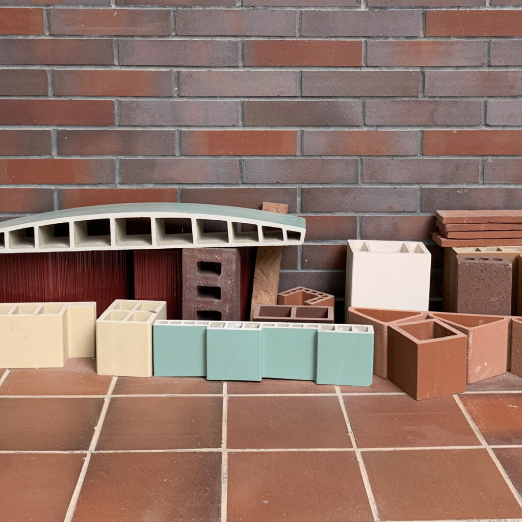 Changeable building facade——LOPO Terracotta Baguette