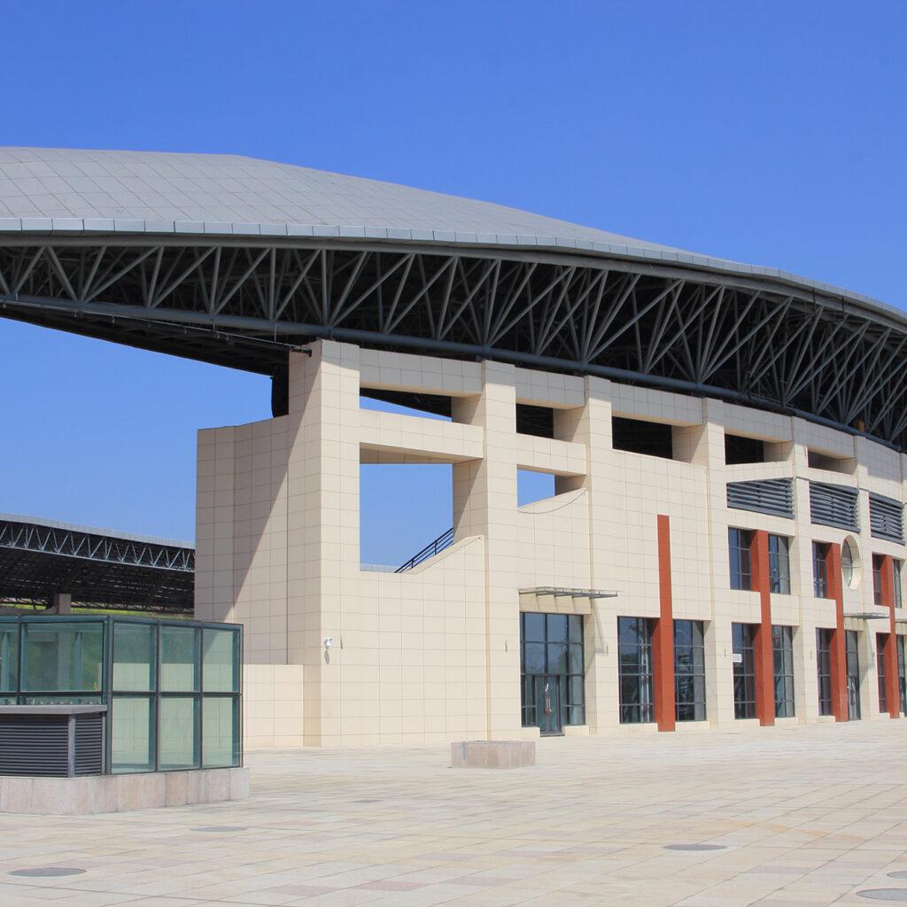 Application of LOPO Rainscreen Facade in Xiuwen Stadium