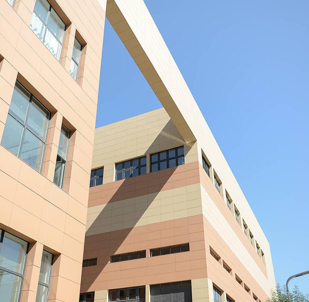 Terracotta for City Complex Facade