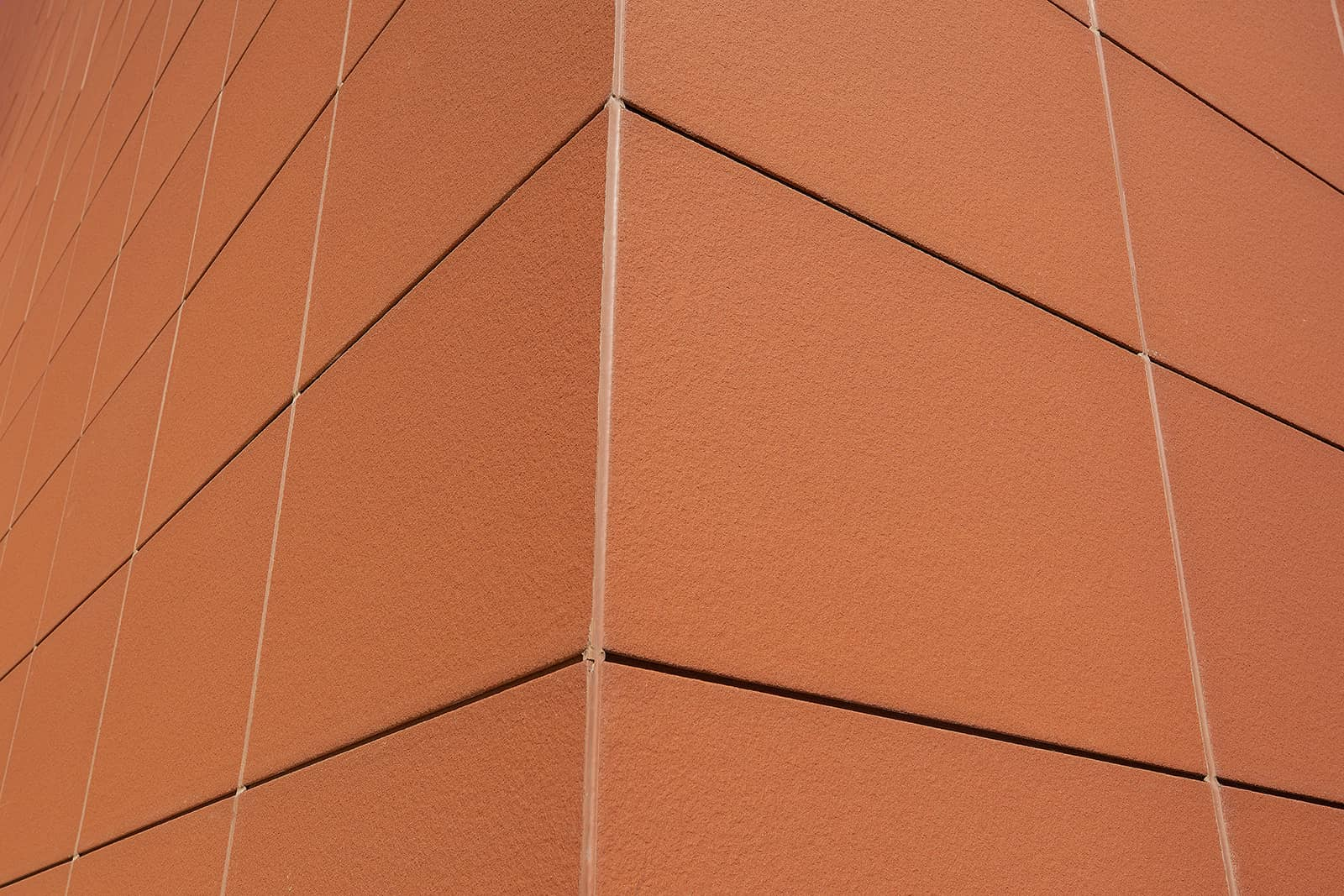 Terracotta Wall in the Exhibition Hall