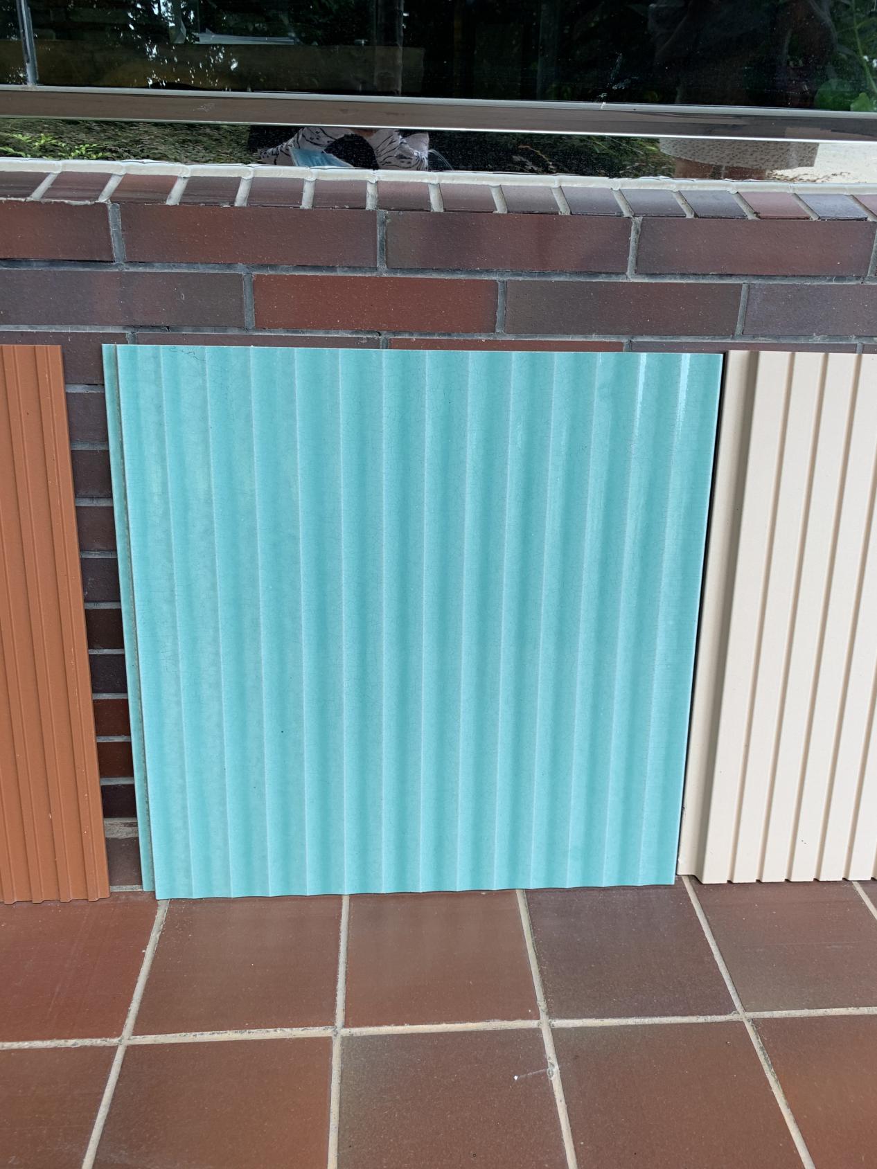 Glazed Terracotta Panel