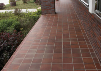 Environmental protection application of clay brick tiles on pavement