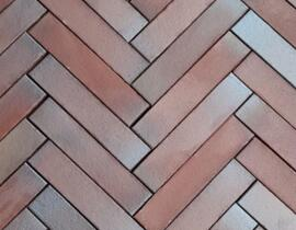 Reduction Reaction Fired Clay Brick Tile