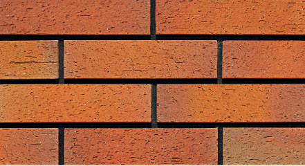 Weathering Resistant Red Brick Wall Tile
