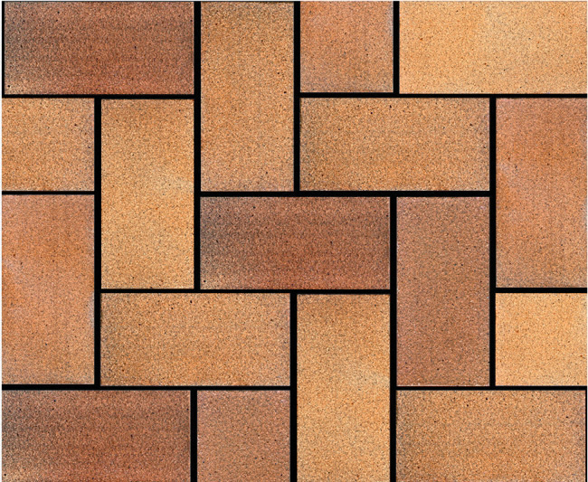 Public Square Terracotta Clay Brick Paver