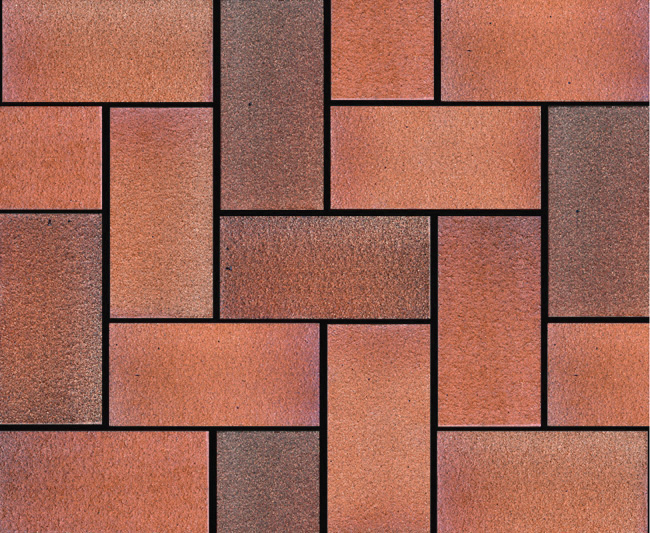 Fireproof Natural Clay Terracotta Paving Tile