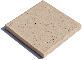 Unglazed Terracotta Clay Thick Brick
