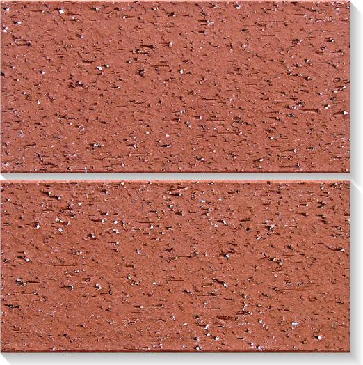 Azulejo de argila de terracota de tijolo vermelho