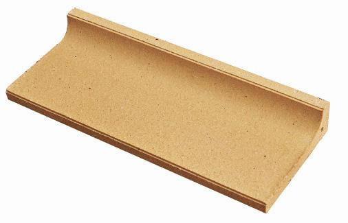 Clay-materiaal terracotta vloertegel