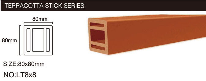 Terracotta Clay Baguette Outdoor Baguette