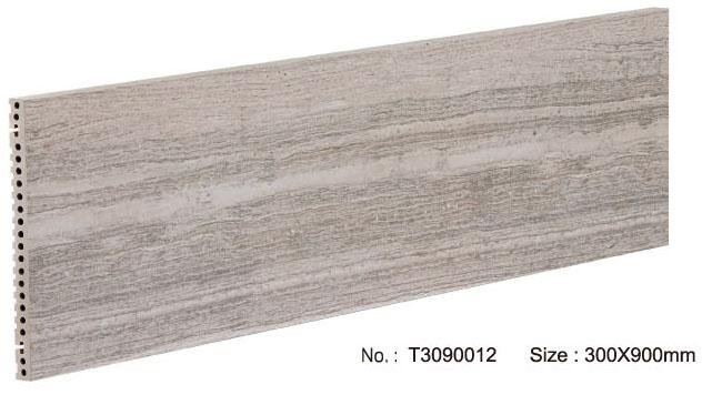 Modern porselein wandpaneel met marmeren graan