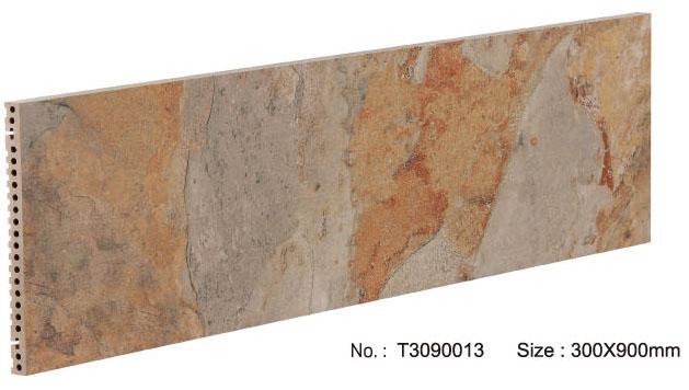Zandsteen oppervlak porseleinen paneel voor muur