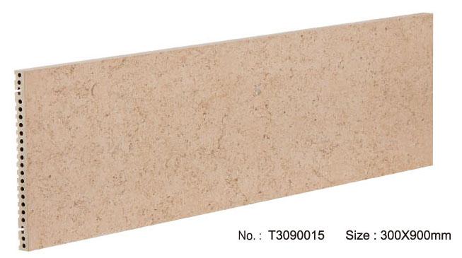 Buiten marmeren keramische gevelpaneel met droog ophangsysteem