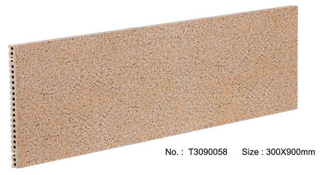 Droog hangsysteem Porseleinen muurgevelpaneel