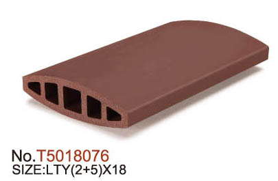 Building Construction Terracotta Clay Baguette Louver
