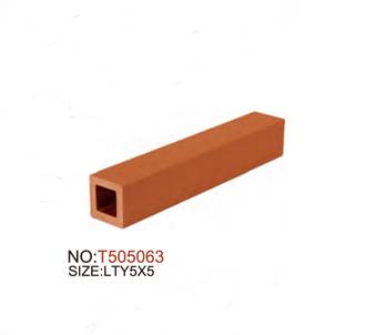 Terracotta Baguette Stick voor muurgordijn