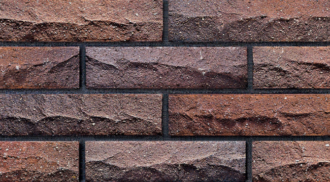 Never Fade Split Fire Exterior Wall Tile Terracotta