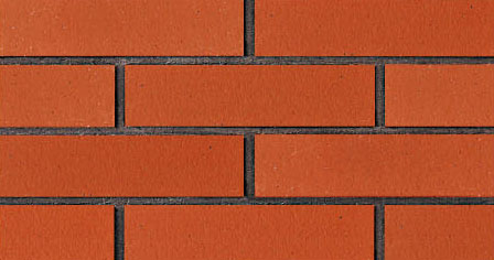 Flat Surface Wall Decorative Red Brick